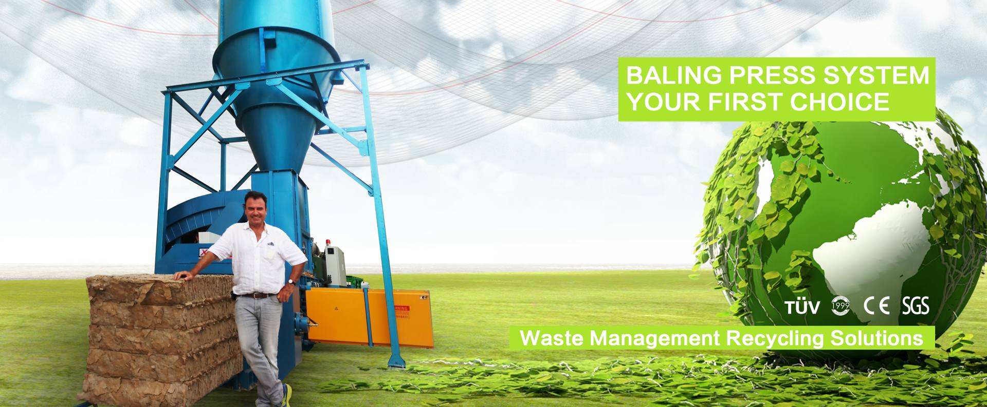 Baler Press System Your First Choice