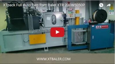 Full Auto Two Ram Baler XTR 200W5050P