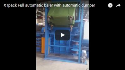 Full Automatic Baler With Automatic Dumper
