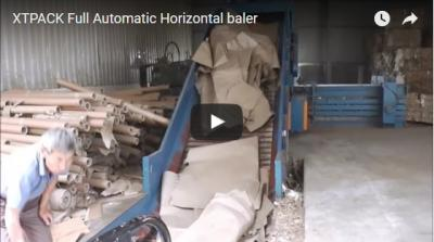 Full Automatic Horizontal Baler