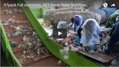 Full Automatic PET Bottle Baler Machine