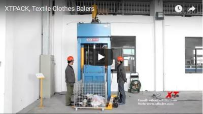Textile Clothes Balers