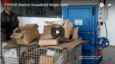 Marine Household Waste Baler