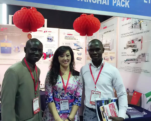 XTPACK took part in Indian 2013 Corrugated Exhibition