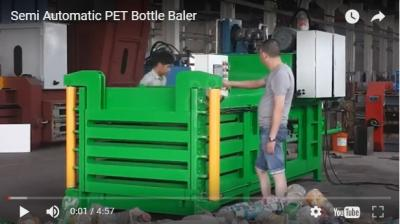 Semi Automatic PET Bottle Baler