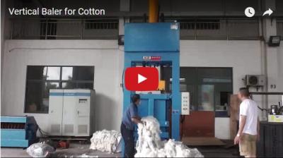 Vertical Baler for Cotton