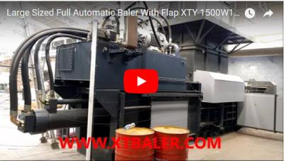 Large-Sized Full Automatic Baler With Flap XTY-1500W110110-150