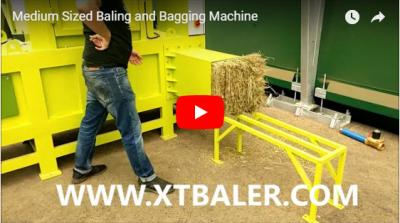 Medium Sized Baling and Bagging Machine