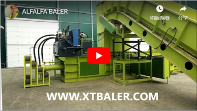 Full Automatic Baler for Alfafa, Grass, Straw